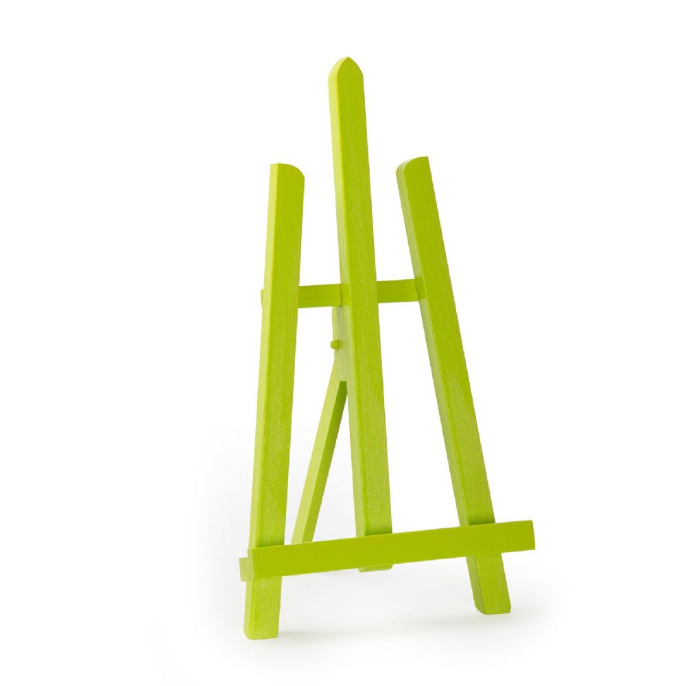 "Lime Colour Easel Essex 16"" - Beech Wood"
